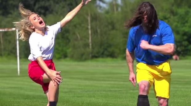 Soccer player steals condoms