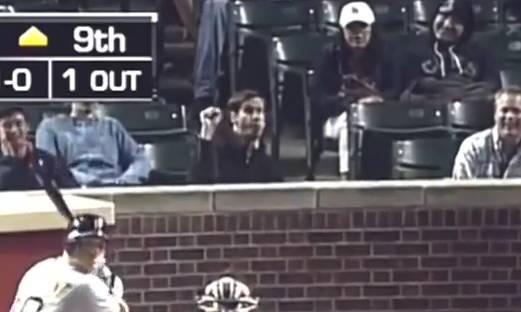 Baseball blowjob