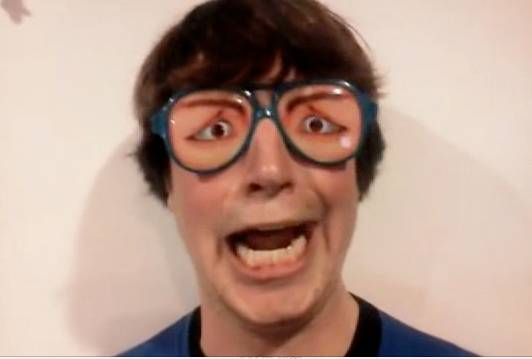 goofy with and glasses rtm