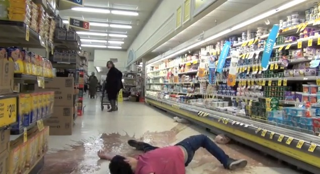 original video  milk gallon smash prank