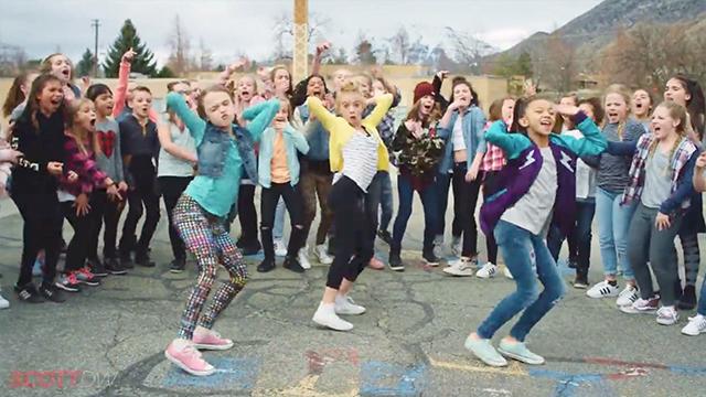 Boys Vs Girls In Epic Recess Dance Battle  Rtm - Rightthisminute-6527