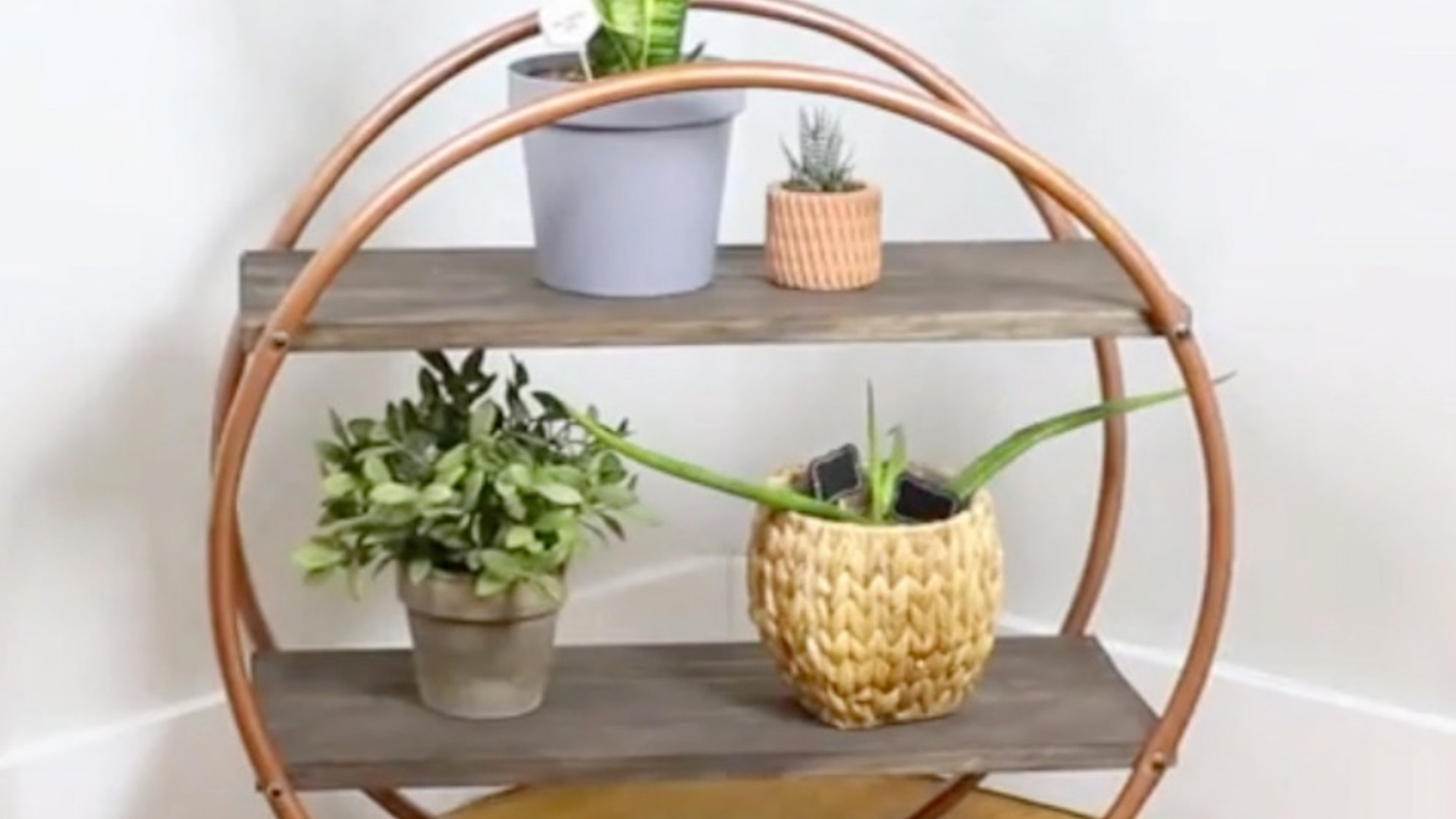 DIY Hula Hoop Shelf That Fits Any Budget | RTM ...