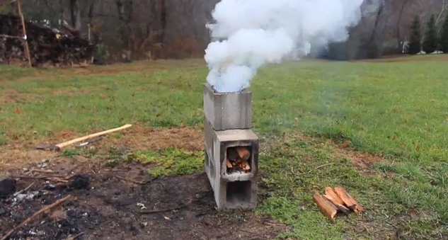 Upgrade Your Camp Cooking With A Homemade Rocket Stove