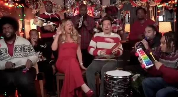 Jimmy Fallon, Mariah C... Christmas Songs On Youtube Mariah Carey