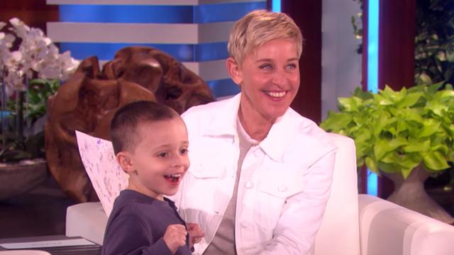 Ellen Show Kid Geography