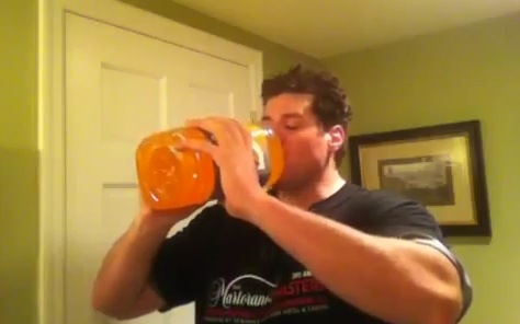 Find A Code >> Gallon o' Gatorade: L.A. Beast Takes it Like a Man | RTM - RightThisMinute