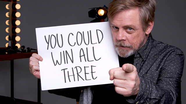 Mark Hamill And Daisy Ridley Present Epic 'Star Wars ...