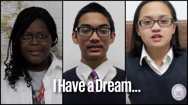 Kids Recite Martin Luther King S I Have A Dream Speech Rtm