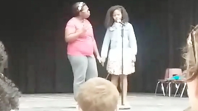 Mom Joins Son Daughter