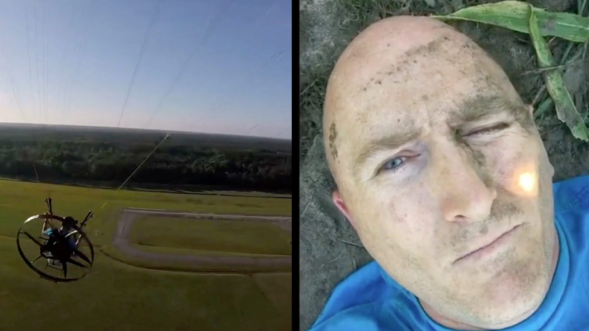 Weather Conditions Lead To Shocking Paramotor Crash | RTM