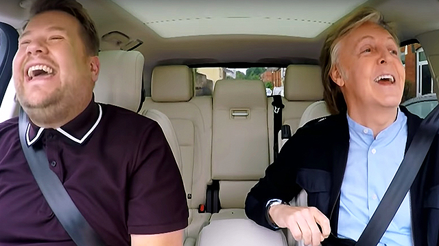 Carpool Lane Rules >> Paul McCartney Joins James Corden For Epic 'Carpool ...