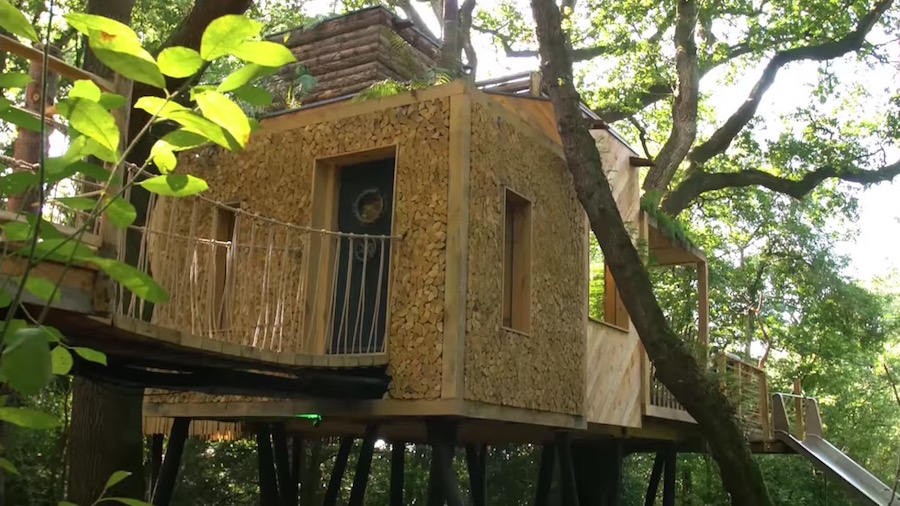Look Inside This Luxurious 200k Treehouse Rtm