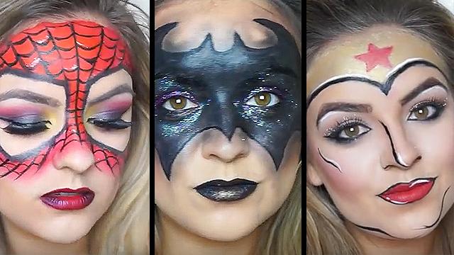 Superhero Makeup Superhero Makeup - Mug...