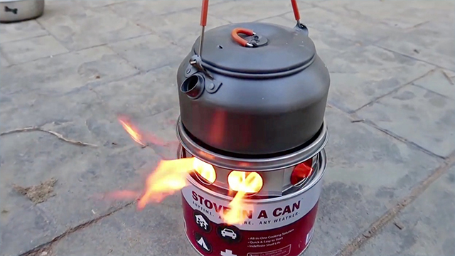 Crazy Russian Hacker Tries Stove In A Can Rtm