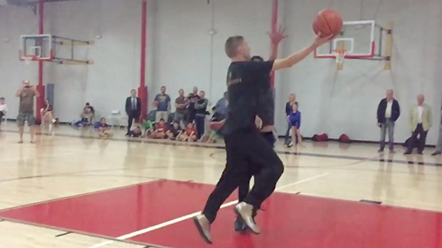 'The Professor' Schools Players At Basketball Clinic   RTM ...