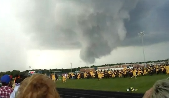 Reported Tornado Almost Touches Down During Nj Graduation