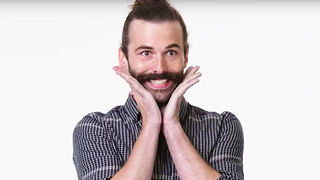 jonathan van ness from 39 queer eye 39 tries new things rtm rightthisminute. Black Bedroom Furniture Sets. Home Design Ideas