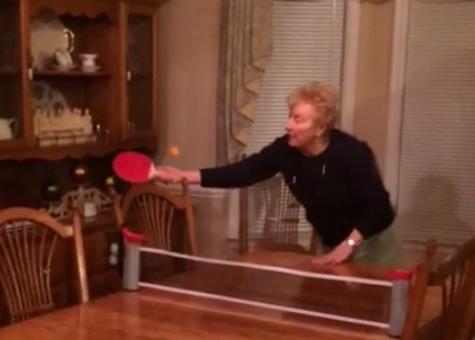 Grandma Loves Ping Pong Rtm Rightthisminute