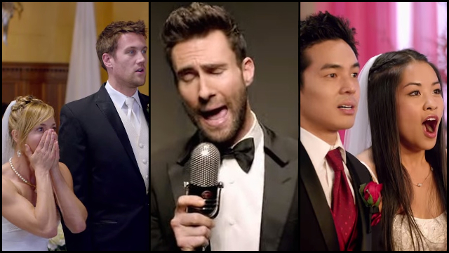 Maroon 5 Crashed A Bunch Of Weddings For Sugar Music Video