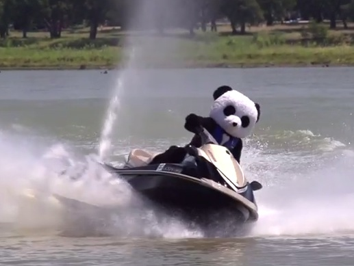 nerf guns pandas make everything better at lake house rtm