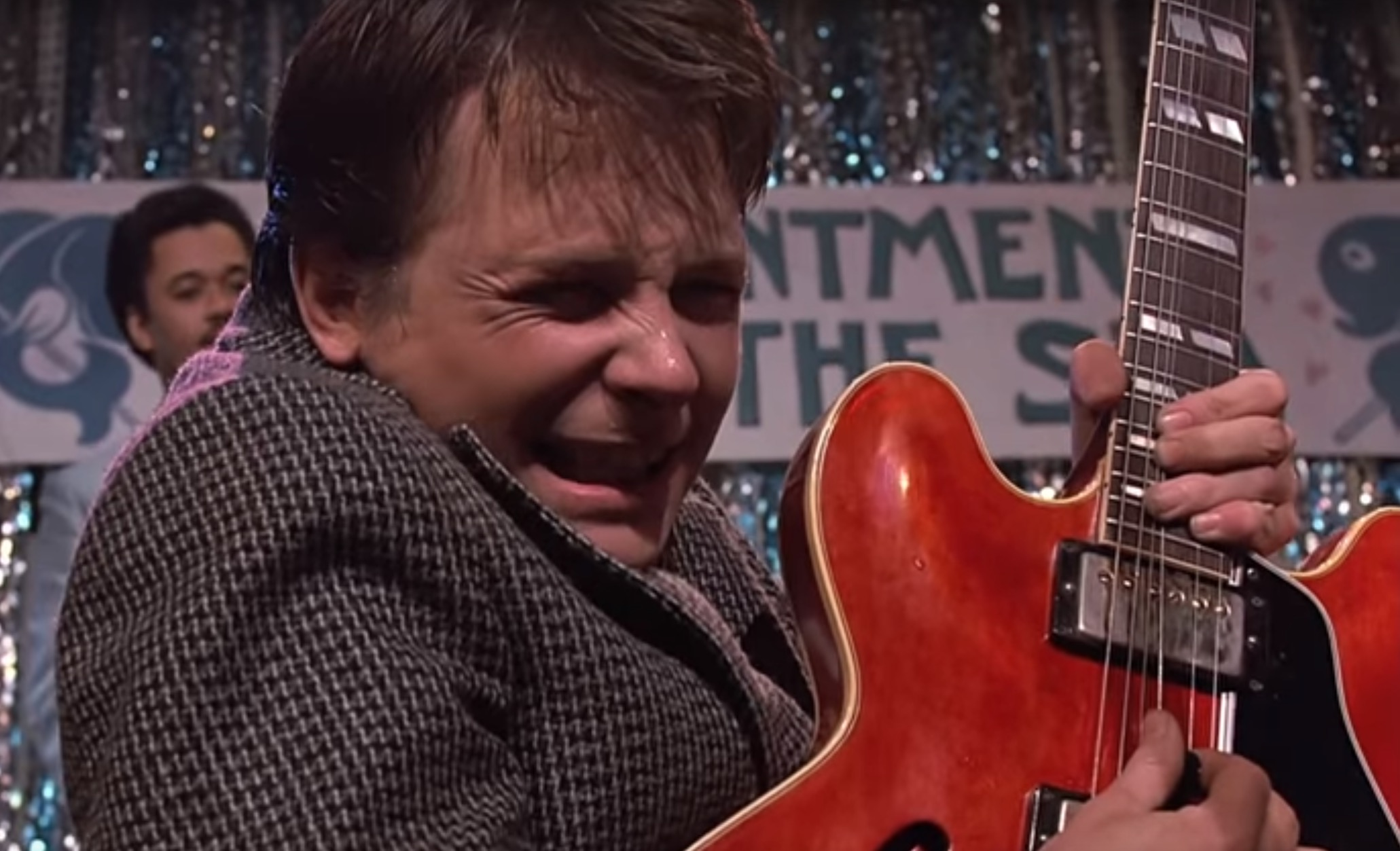 Marty Mcfly S Gibson Guitar Was Actually From The Future