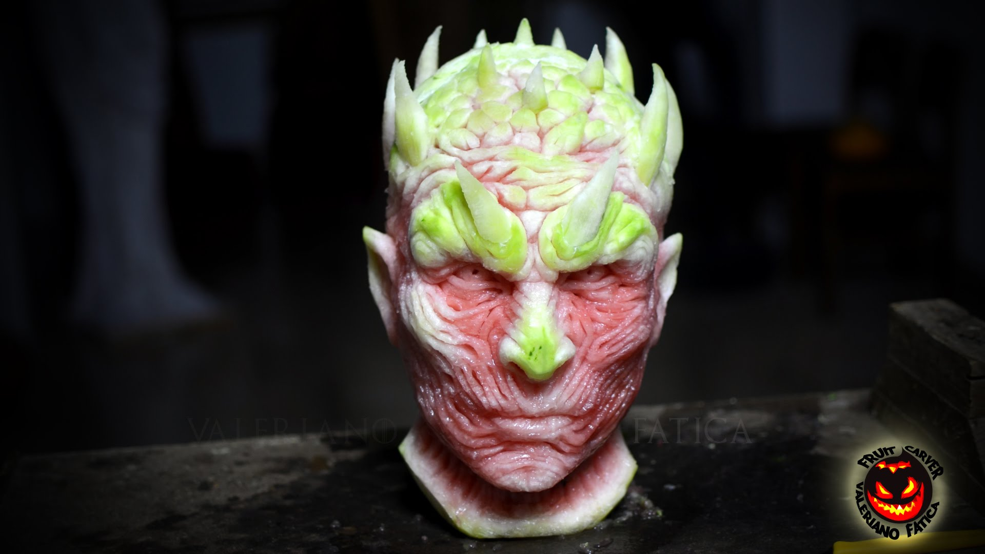 Watermelon Is Coming Artist Carves Game Of Thrones Night