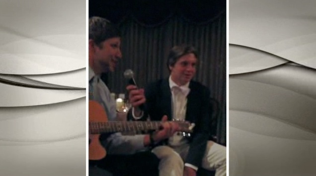 Brothers Sing Hilarious Song At Sisters Wedding