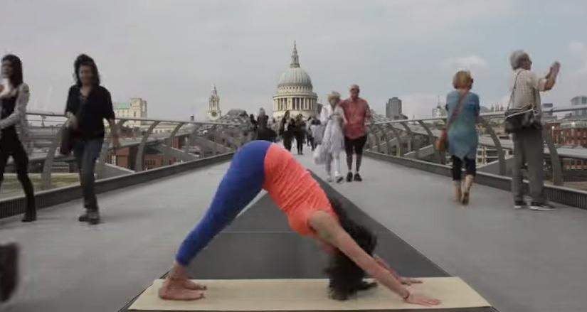Electric Fat Bike >> Yogi Finds Her Zen on Busy Millennial Bridge in London ...